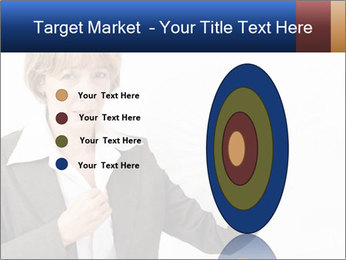 Businesswoman PowerPoint Template - Slide 84