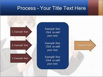 Businesswoman PowerPoint Template - Slide 85