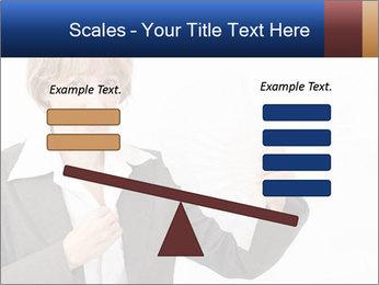 Businesswoman PowerPoint Template - Slide 89