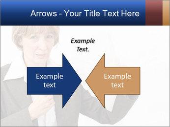 Businesswoman PowerPoint Template - Slide 90