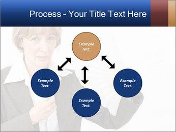 Businesswoman PowerPoint Template - Slide 91