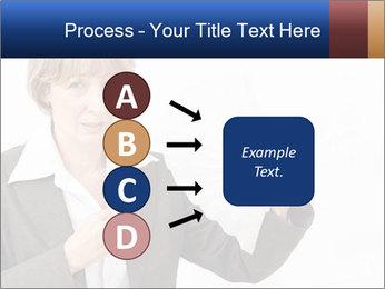 Businesswoman PowerPoint Template - Slide 94
