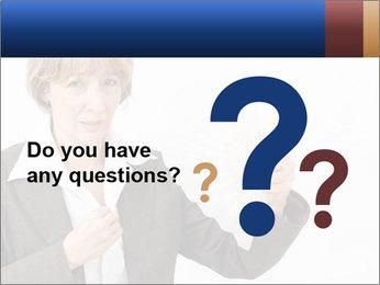 Businesswoman PowerPoint Template - Slide 96