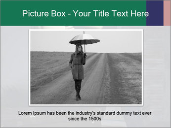 Beautiful sexy woman sitting PowerPoint Template - Slide 16