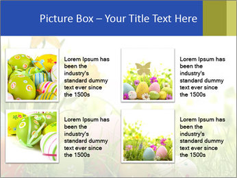 Easter eggs PowerPoint Templates - Slide 14