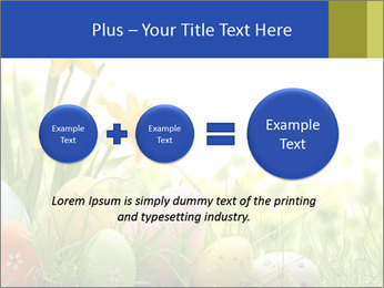Easter eggs PowerPoint Template - Slide 75
