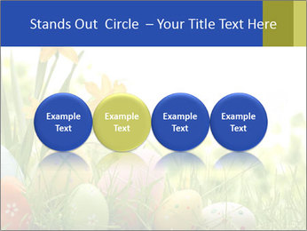 Easter eggs PowerPoint Template - Slide 76