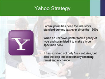Group of business people working PowerPoint Templates - Slide 11