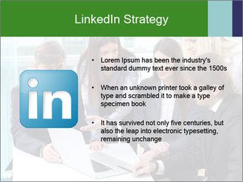 Group of business people working PowerPoint Templates - Slide 12