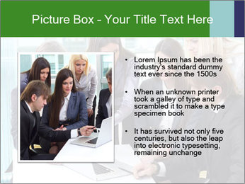 Group of business people working PowerPoint Templates - Slide 13