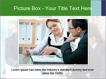 Group of business people working PowerPoint Templates - Slide 16