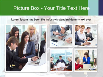 Group of business people working PowerPoint Templates - Slide 19