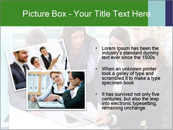 Group of business people working PowerPoint Templates - Slide 20