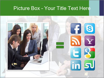 Group of business people working PowerPoint Templates - Slide 21