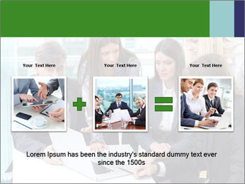 Group of business people working PowerPoint Templates - Slide 22