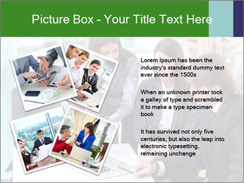 Group of business people working PowerPoint Templates - Slide 23