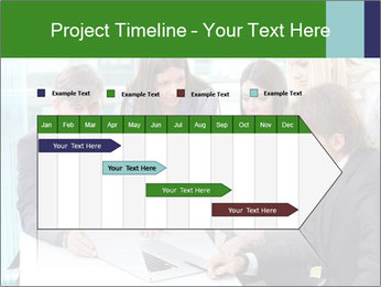 Group of business people working PowerPoint Templates - Slide 25