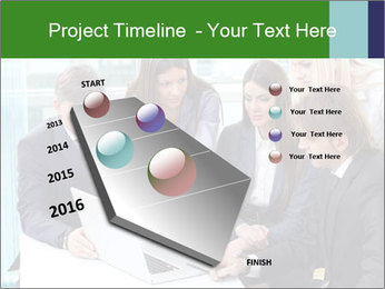 Group of business people working PowerPoint Templates - Slide 26
