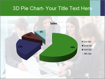 Group of business people working PowerPoint Templates - Slide 35