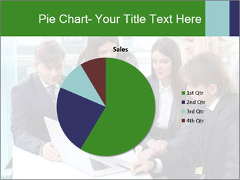 Group of business people working PowerPoint Templates - Slide 36