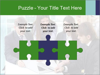 Group of business people working PowerPoint Templates - Slide 42