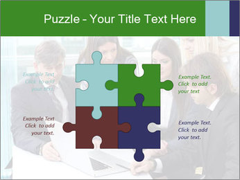 Group of business people working PowerPoint Templates - Slide 43