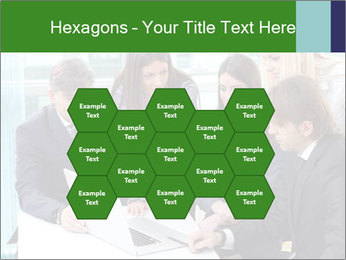Group of business people working PowerPoint Templates - Slide 44