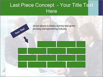 Group of business people working PowerPoint Templates - Slide 46