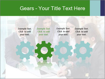 Group of business people working PowerPoint Templates - Slide 48