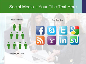 Group of business people working PowerPoint Templates - Slide 5