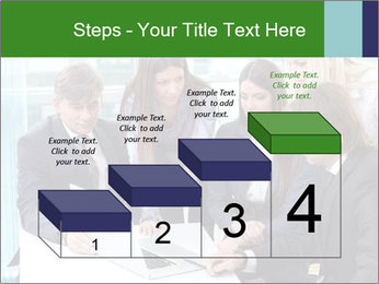 Group of business people working PowerPoint Templates - Slide 64