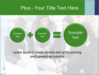 Group of business people working PowerPoint Templates - Slide 75
