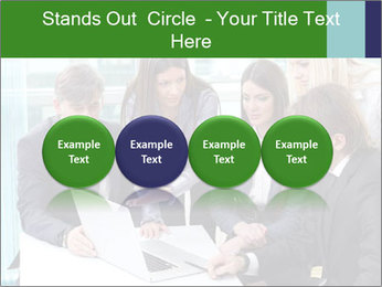Group of business people working PowerPoint Templates - Slide 76