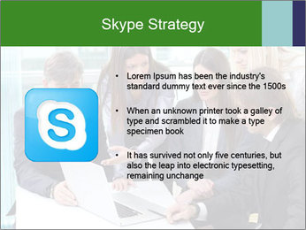 Group of business people working PowerPoint Templates - Slide 8