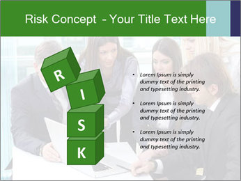 Group of business people working PowerPoint Templates - Slide 81