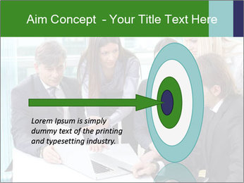Group of business people working PowerPoint Templates - Slide 83