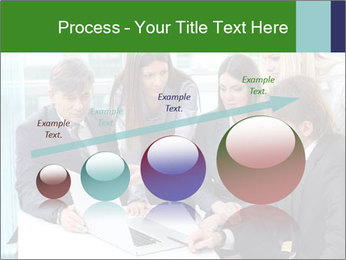 Group of business people working PowerPoint Templates - Slide 87