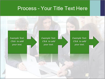 Group of business people working PowerPoint Templates - Slide 88