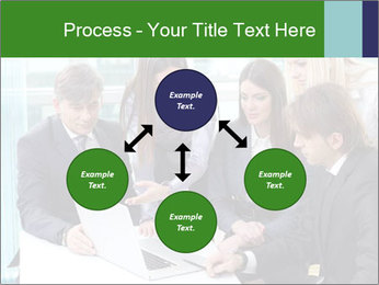 Group of business people working PowerPoint Templates - Slide 91