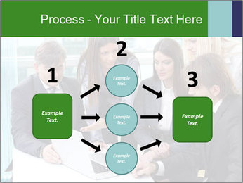 Group of business people working PowerPoint Templates - Slide 92