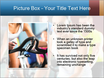Young People doing sport PowerPoint Template - Slide 13