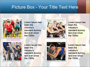 Young People doing sport PowerPoint Templates - Slide 14