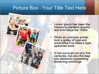 Young People doing sport PowerPoint Templates - Slide 17