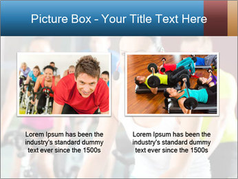 Young People doing sport PowerPoint Template - Slide 18