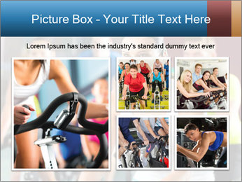 Young People doing sport PowerPoint Templates - Slide 19