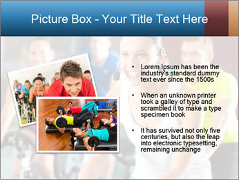 Young People doing sport PowerPoint Templates - Slide 20