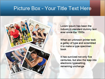 Young People doing sport PowerPoint Templates - Slide 23