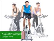 Spinning training PowerPoint Templates