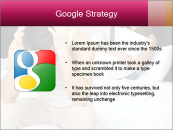 Upset man having problem PowerPoint Template - Slide 10