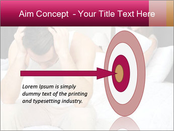 Upset man having problem PowerPoint Template - Slide 83